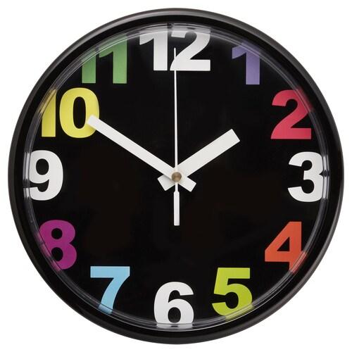 JYCKE jam dinding pelbagai warna 23 cm