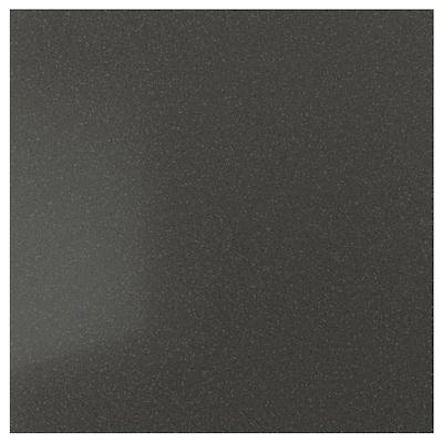 KLINGSTA Panel dinding buatan tersuai, coklat gelap dengan kesan bahan galian/berkilau/akrilik, 1 m²x1.2 cm