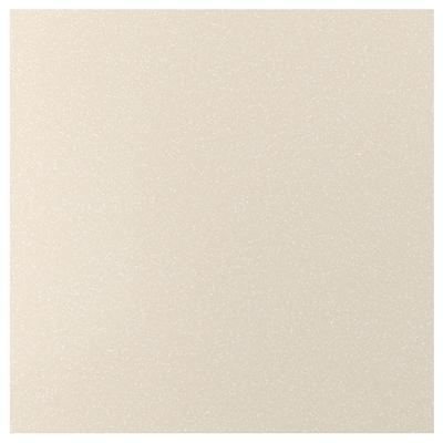 KLINGSTA Panel dinding buatan tersuai, kuning air/putih kesan mineral/akrilik, 1 m²x1.2 cm