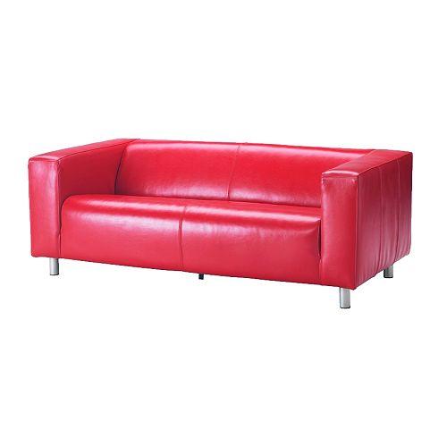 Gambar Sofa Merah : Laman Utama / Ruang Tamu / Sofa kulit / Sofa dua tempat duduk