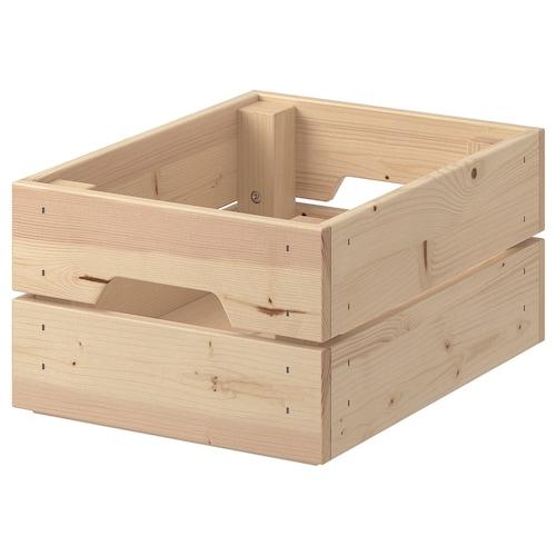KNAGGLIG kotak kayu pain 23 cm 31 cm 15 cm