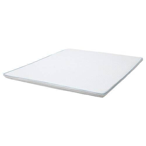 KNAPSTAD pelapik tilam putih 200 cm 150 cm 5.0 cm