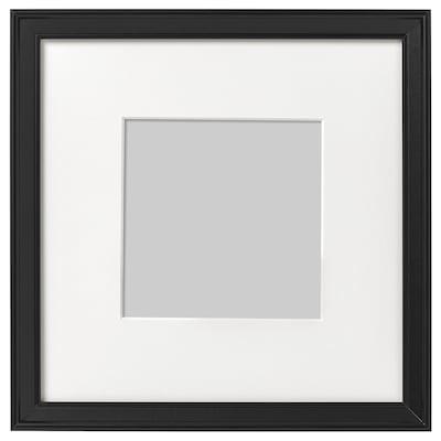 KNOPPÄNG Bingkai, hitam, 23x23 cm