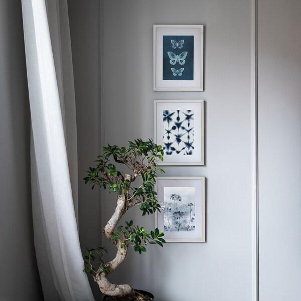 KNOPPÄNG Bingkai, putih, 40x50 cm