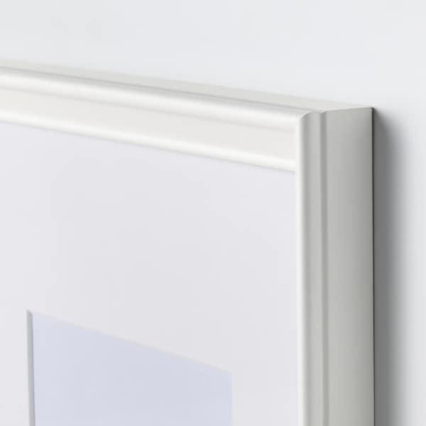 KNOPPÄNG Bingkai, putih, 21x30 cm