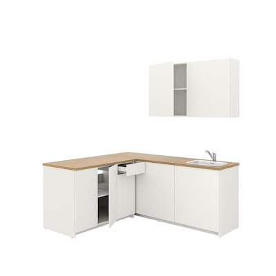 KNOXHULT Dapur, putih, 182x183x220 cm