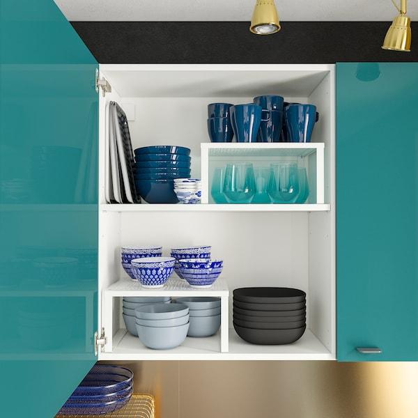 KNOXHULT dapur berkilat biru-firus 204.0 cm 61.0 cm 220.0 cm