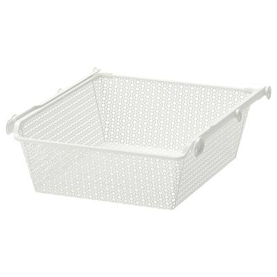 KOMPLEMENT Bkl jrg dgn rel trk klr, putih, 50x58 cm