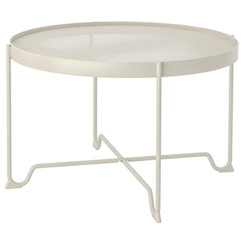 KROKHOLMEN meja kopi, luar kuning air 44 cm 73 cm