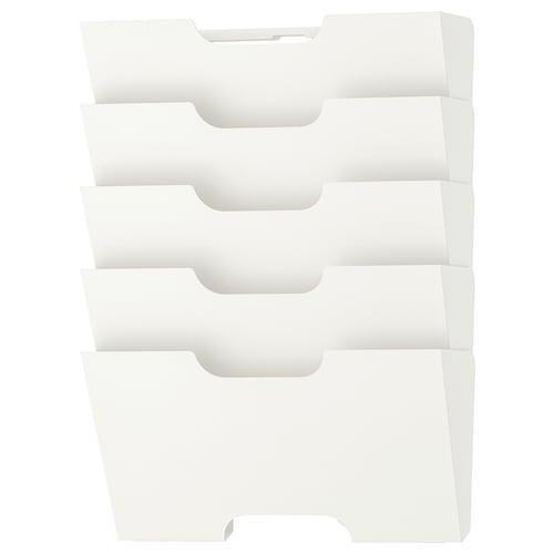 KVISSLE rak suratkhabar pada dinding putih 46 cm 34 cm 9 cm