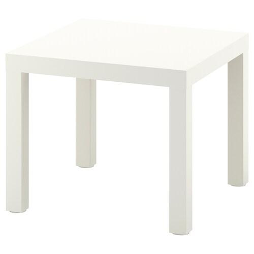 LACK meja sisi putih 55 cm 55 cm 45 cm 25 kg