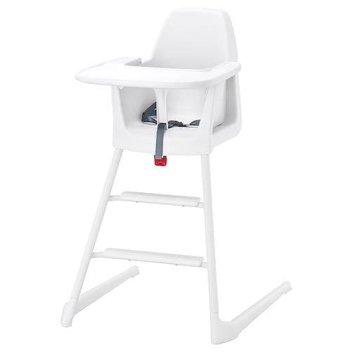 LANGUR kerusi junior/tinggi dengan dulang putih 56 cm 61 cm 87 cm 22 cm 21 cm 56 cm