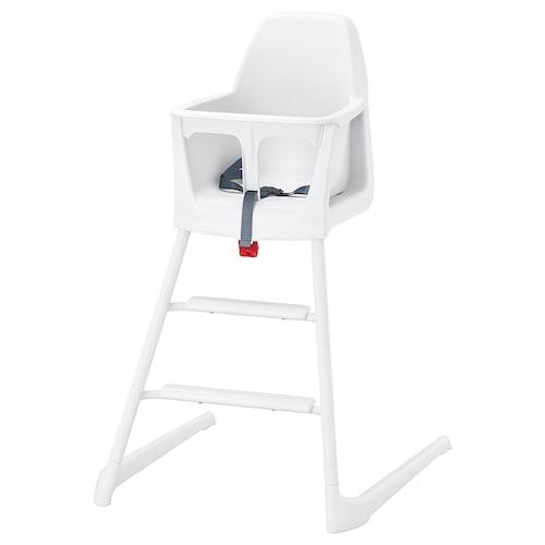 LANGUR kerusi junior/tinggi putih 56 cm 61 cm 87 cm 22 cm 21 cm 56 cm