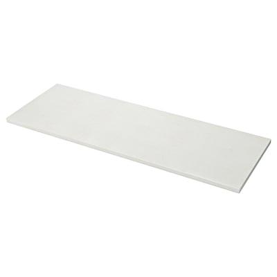 LAXNE Permukaan buatan tersuai, putih pudar kesan mineral/akrilik, 1 m²x4 cm