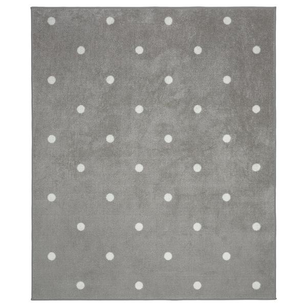 LEN Ambal, berbintik/kelabu, 133x160 cm