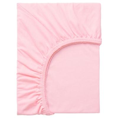 LEN Cadar sama sendat, merah jambu, 80x130 cm