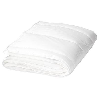 LEN Duvet untuk katil bayi, putih, 110x125 cm