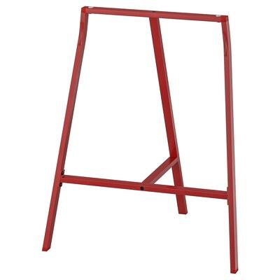 LERBERG Tresler, merah, 70x60 cm
