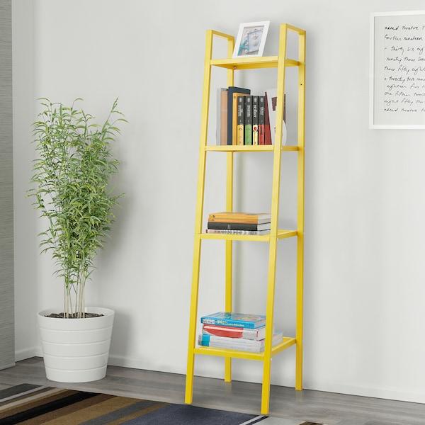 LERBERG Unit rak, kuning, 35x148 cm