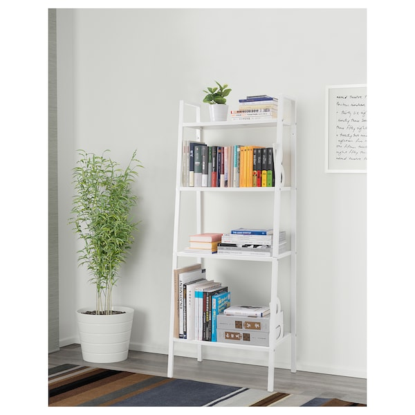 LERBERG Unit rak, putih, 60x148 cm