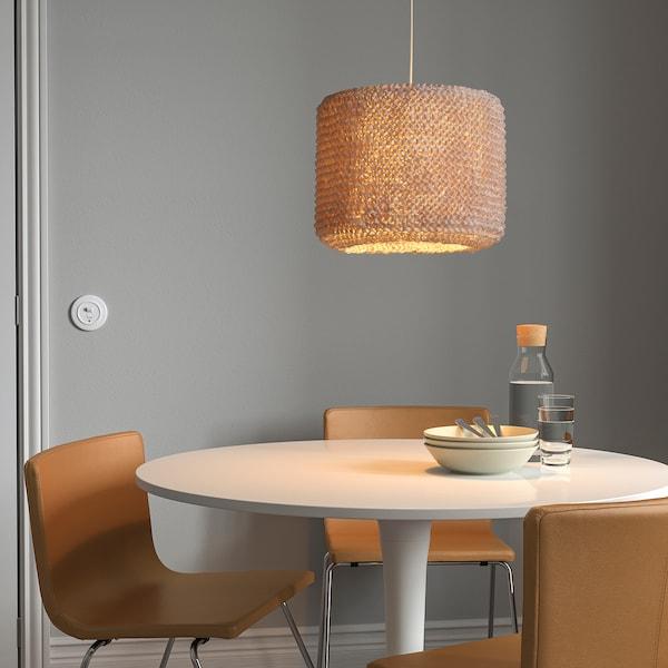 LERGRYN / HEMMA Lampu pendan, kuning air/putih