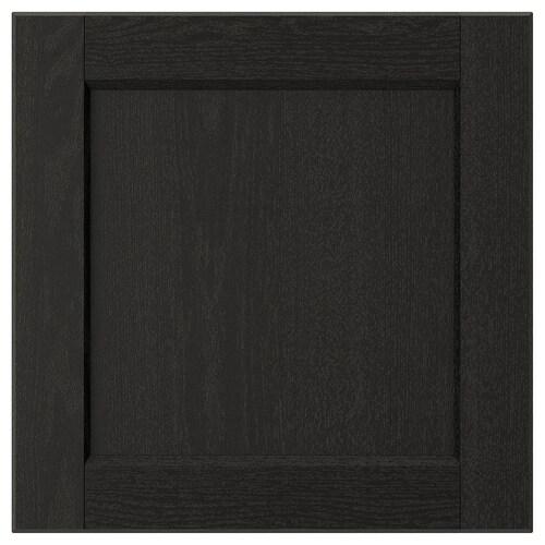 LERHYTTAN pintu perwarna hitam 39.7 cm 40.0 cm 40.0 cm 39.7 cm 1.9 cm