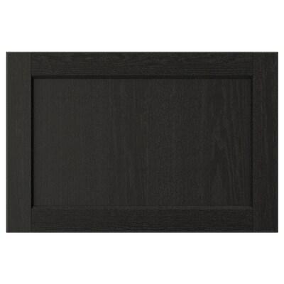 LERHYTTAN Pintu, perwarna hitam, 60x40 cm