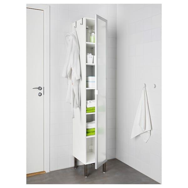 LILLÅNGEN Kabinet tinggi 1 pintu - aluminium - IKEA