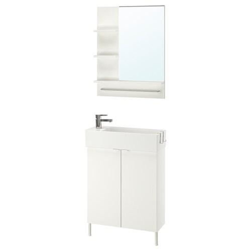 LILLÅNGEN / LILLÅNGEN set 5 unit perabot bilik mandi