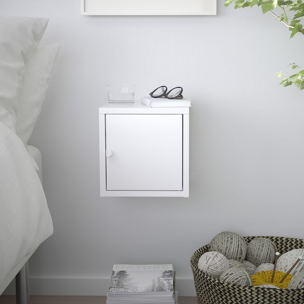 LIXHULT Kabinet, logam/putih, 25x25 cm