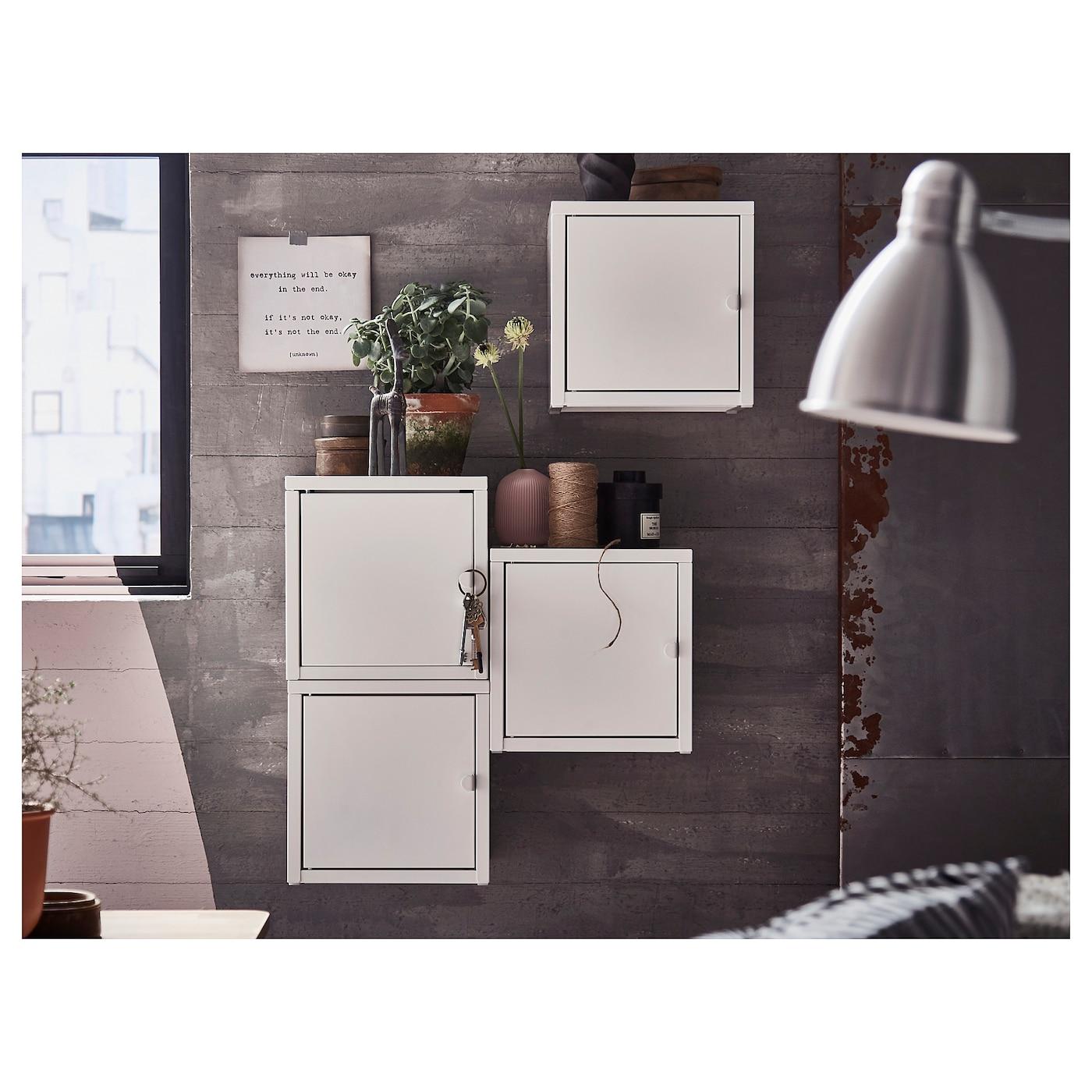 Lixhult Kombinasi Kabinet Lekap Dinding Ikea