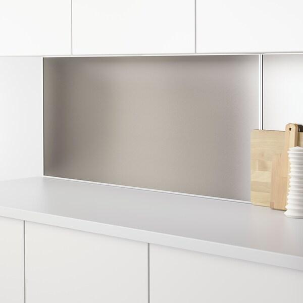 LYSEKIL Landasan untuk panel dinding, aluminium, 120 cm