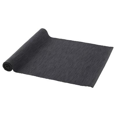 MÄRIT Selendang meja, hitam, 35x130 cm