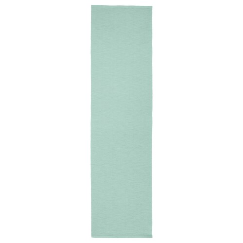 MÄRIT selendang meja firus lembut 130 cm 35 cm
