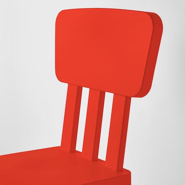 MAMMUT Kerusi kanak-kanak, dalam/luar /merah