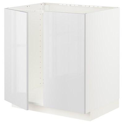 METOD Kabinet dasar sink + 2 pintu