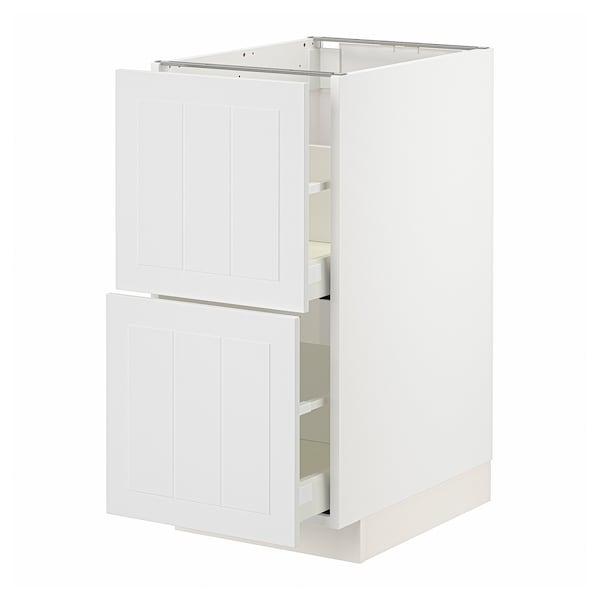 METOD / MAXIMERA Kabinet dasar 2 depan/2 laci tinggi