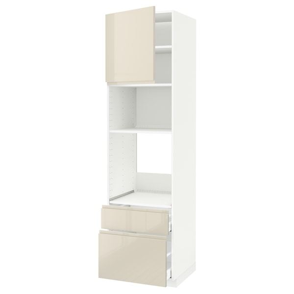 METOD / MAXIMERA Kabinet tinggi ketuhar/mikro+pintu