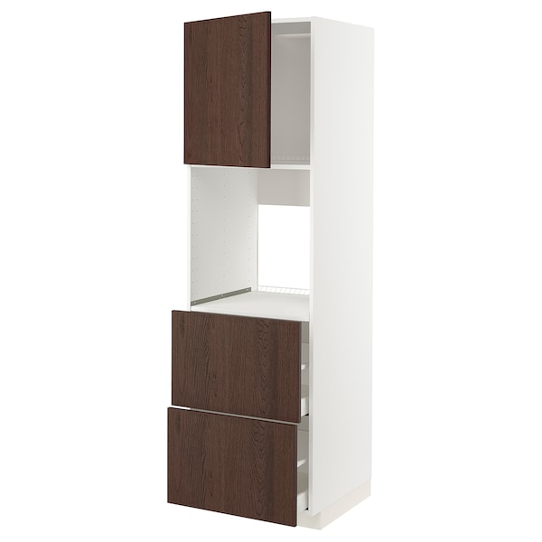 METOD / MAXIMERA Kabinet tinggi ketuhar+pintu/depan