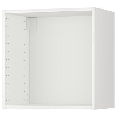 METOD Rangka kabinet dinding, putih, 60x37x60 cm