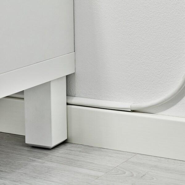 MONTERA Penyaluran kabel, putih, 1.1 m