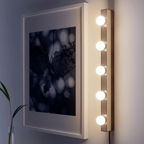 MUSIK Lampu dinding, berkrom