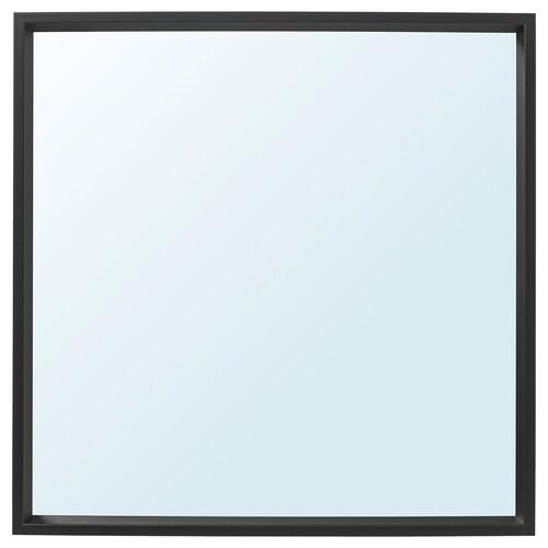 NISSEDAL cermin hitam 65 cm 65 cm