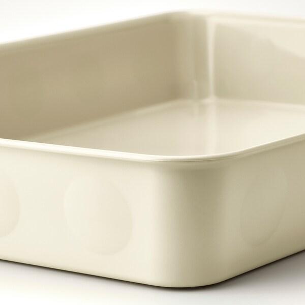 NOJIG Penyusun, plastik/kuning air, 15x20x5 cm