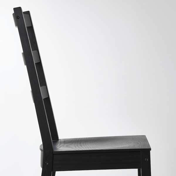 NORDVIKEN / NORDVIKEN meja dan 2 kerusi hitam/hitam 74 cm 104 cm 74 cm