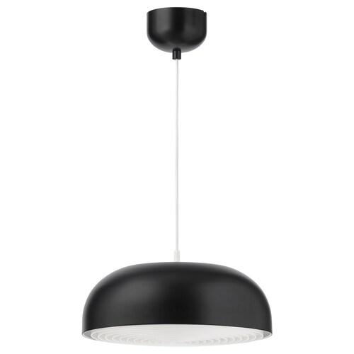 NYMÅNE lampu pendan antrasit 13 W 40 cm 1.6 m