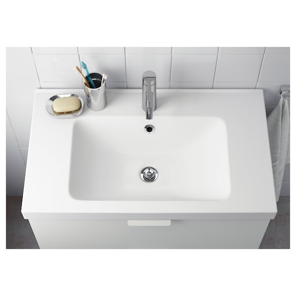 ODENSVIK Sink tunggal, 83x49x6 cm