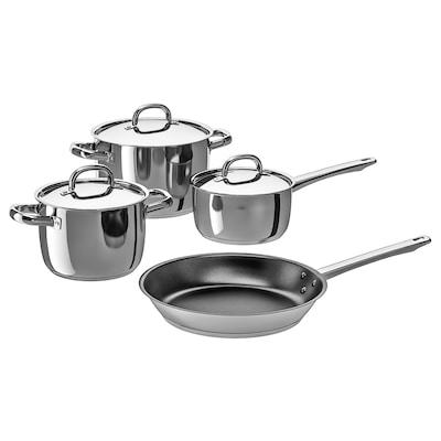 OUMBÄRLIG Set memasak 7 unit