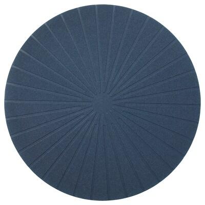 PANNÅ Alas pinggan, biru gelap, 37 cm