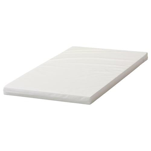 PLUTTIG tilam busa untuk katil bayi 120 cm 60 cm 5 cm